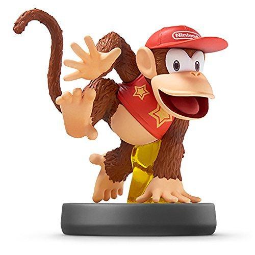 Nintendo Wii U 3DS Amiibo Diddy Kong Super Smash Bros. [Japan Import]