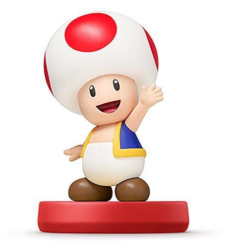 Nintendo Wii U 3DS Amiibo Toad/Kinopio Super Smash Bros. [Japan Import]