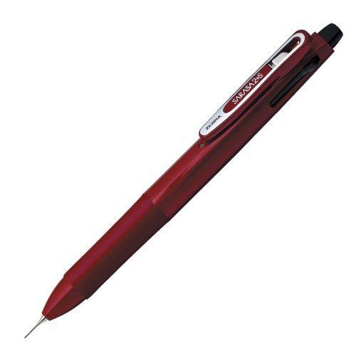 Zebra Multi Function Sarasa 2 S Black/Red Ink Ballpoint Pen 0.5mm Mechanical Pen