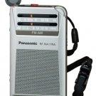 Panasonic - Silver radio RF-NA17RA-S commute Panasonic FM / AM 2 Band
