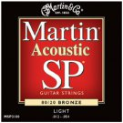 C.F. Martin & Co. MSP3100 SP 80/20 Bronze Acoustic Guitar Strings Light