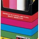 Mitsubishi Posuka 8-color set very thick character PC17K8C