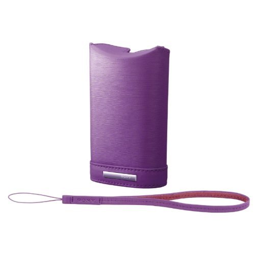 Sony - Soft Carrying Case for Cyber-shot W Series camera | LCS-WM/V Violet