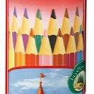 FABER CASTELL colored pencil round can 24 color set TFC CPK/24C