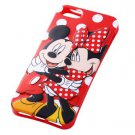 Disney Character 3D Relief iPhone 5 Case (Mickey & Minnie Mouse)