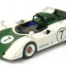 Toyota 7 1969 Japan GP White/Green 1/43 Scale Diecast Model