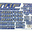tamiya -- Tamiya -- TRF Sticker C (Blue Edge / Mirror)