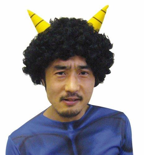JIG - Demon black wig