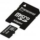Transcend 16GB MicroSDHC Class10 UHS-1 Memory Card 45 MB/s (TS16GUSDU1)