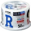 book - TDK data CD-R 700MB 48 speed/ white wide printable spindle 50 pieces