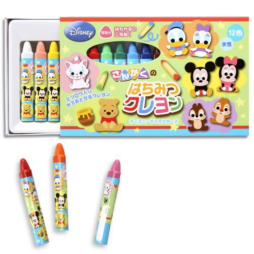 Gintori - 12 colors of crayons 472-015 industry crayon Disney participation