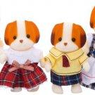"""Epoch Sylvanian Families Sylvanian Family Doll """" Family of Chiffon Dog Fs-11"""""""