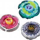 Takaratomy Beyblades #BB75 Japanese Metal Fusion Entry Deck Set (Galaxy Pegasus, Virgo, Orso)