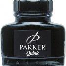 Parker Quink Permanent Fountain Blue Black Color