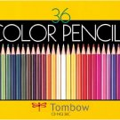 [Tombo] Color Pencils 36 colors (canned) NQ - CB-NQ36C [Dragonfly]