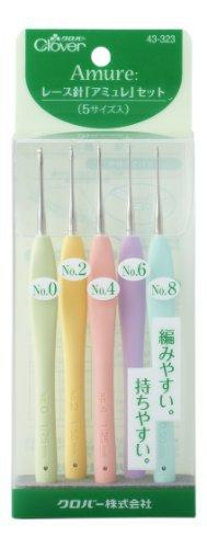 Crafts: Clover Needle Lace Amyure Set
