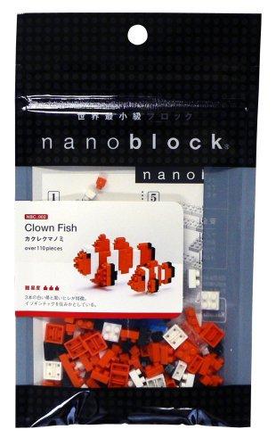 Nanoblock Animals NBC 002 Clown Fish (non LEGO)