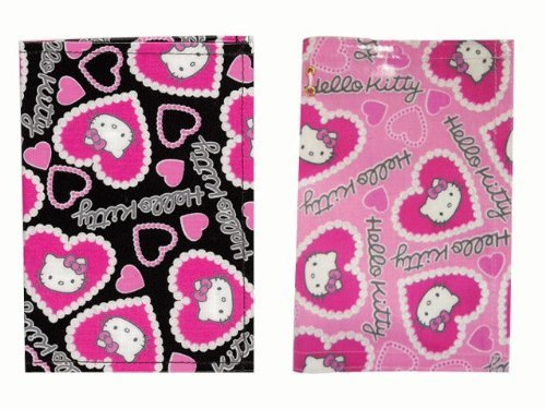 Vanguard - Hello Kitty Passport Cover Rem Heart (Black)