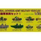 Pit road - 1/350 Japanese Army vehicle set 1 (TB01)
