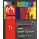 CREATIVE ART MATERIALS - Caran Dache - Neopastel Artist Oil Pastels - Set of 24