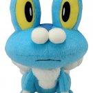 "Takaratomy New Pokemon N-04 X and Y Froakie/Keromatsu 9"" Plush Doll"