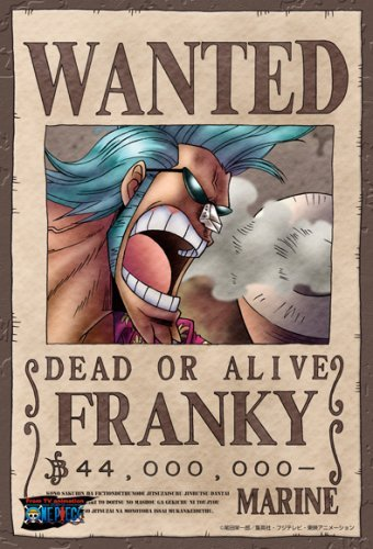One Piece Franky Wanted Poster Puzzle 150 Piece 150-048(Japan Import)