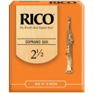 Rico DAddario &Co. Inc - Soprano Sax Reeds Strength 2.5 10-pack
