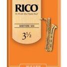 Rico - DAddario &Co. - Baritone Sax Reeds Strength 3.5 10-pack