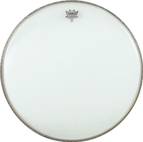 Remo BR132400 24-Inch Ambassador Bass Drum Head Clear