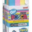 Mitsubishi Pencil Co., Ltd. de! Posuka 6 pastel colors set PC1MDP6C (japan import)