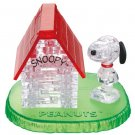 Crystal Puzzle Snoopy House