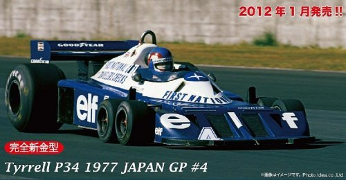 Tyrell P34 1977 Japan GP number 4 Patrick Depailler Long Wheel Ver