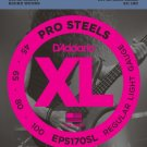DAddario EPS170SL ProSteels Bass Guitar Strings Light 45-100 Super Long Scale