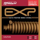 DAddario EXPPBB170 Phosphor Bronze Coated Acoustic Bass Strings 45-100