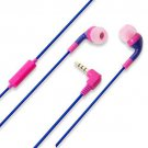 PGA Stereo Earphone for smartphone / iphone color Purple