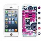 id America CSIA506-BOOM Cushi Case for iPhone 5 - Retail Packaging - DJ Boom box