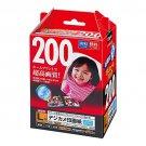 Nakabayashi Digio inkjet paper digital camera photo L 200 sheets JPSK-L-200G