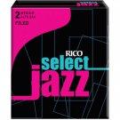 Rico DAddario Select Jazz Alto Sax Reeds Filed Strength 2 Strength Medium 10 pcs