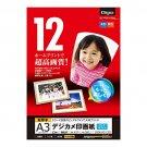 Nakabayashi Co Ltd - A3 12 sheets Digio inkjet digital camera photographic paper