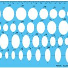 Ruler: Staedtler Synthesis Ellipse Ruler [Japan Import]