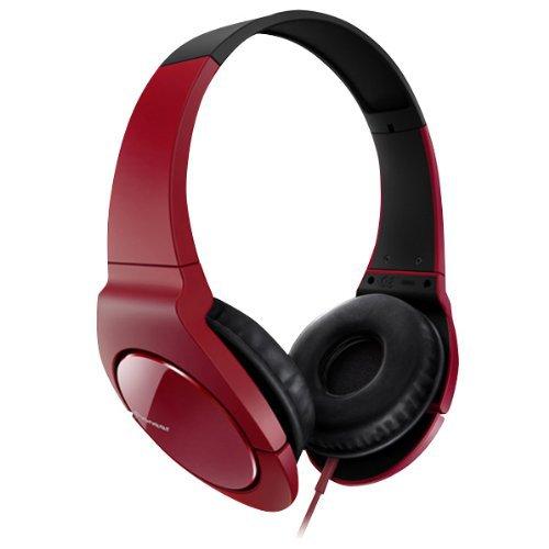 Pioneer Head Band Closed Dynamic Stereo Headphones | SE-MJ721-R Red