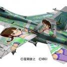 Hasegawa F/A-18F Super Hornet The Idolmaster Akizuki Ritsuko 1/48