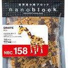 Nano block giraffe NBC_158