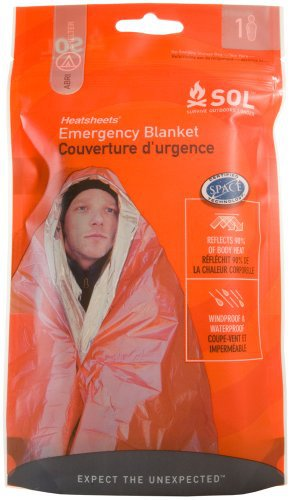 SOL - (Sol) 12 132 Heat Sheet Survival Blanket