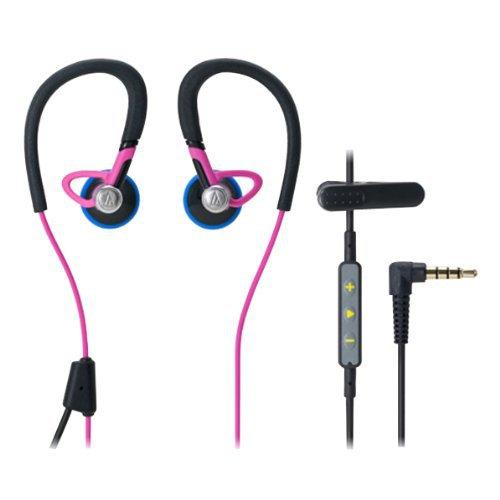 Audio Technica ATH-CP500i Sports Inner-Ear Headphones Microphone iPod/iPhone