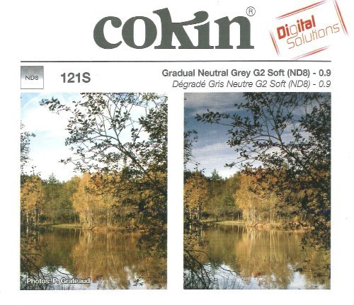 Cokin A121S Filter A Gradual Grey G2 Soft