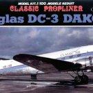 Doyusha DC-3 Switzerland Plastic model Doyusha 1/100 Passenger Plane