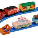 Takara Tomy Plarail Pla Rail Trackmaster Freight car set amusing Motorized James