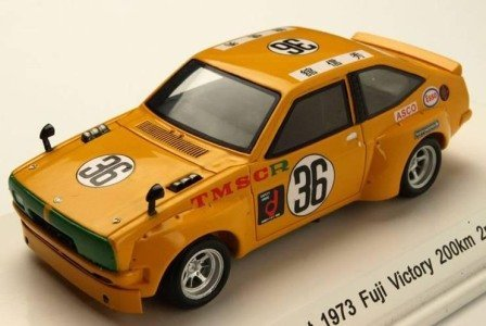 Kokusai Boueki Model Car Reve TOYOTA Starlet 1973 Fuji Victory 200km 2nd No. 36