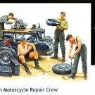 1/35 German motorcycle maintenance crew (japan import)